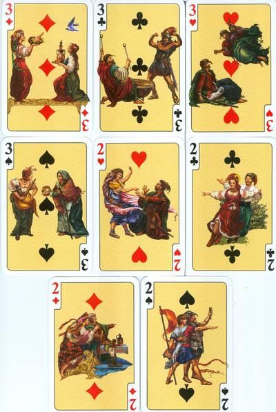 Игральные карты «Энеида» коллекционные